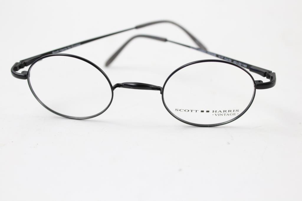 Scott Harris Vintage Men\'s Eyeglasses | Property Room