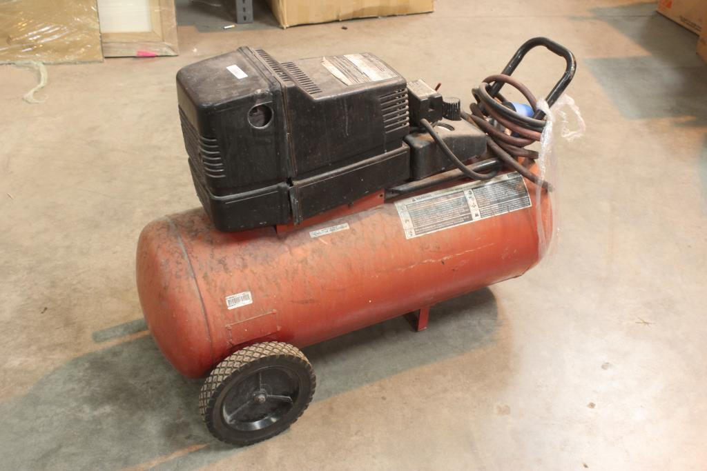 Sears Craftsman 4hp 25 Gallon Air Compressor Model 919 152920 Property Room
