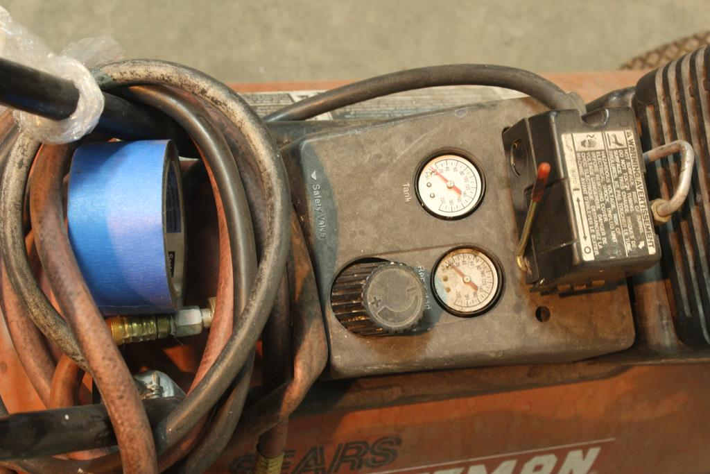 Sears Craftsman 4hp 25 Gallon Air Compressor Model 919
