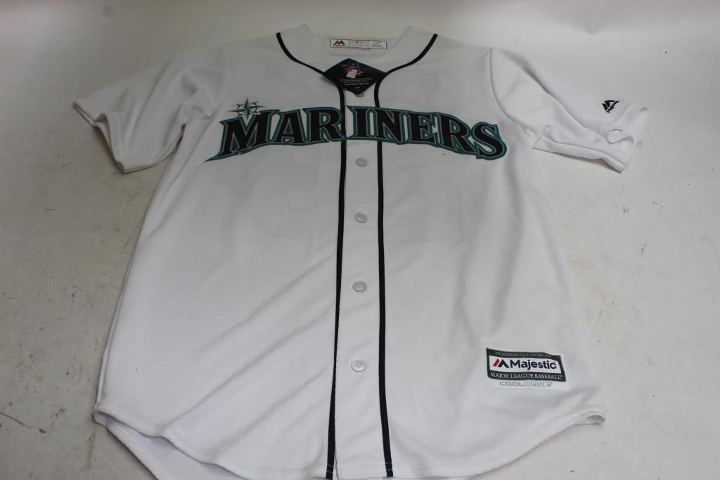 official photos 81a80 4dc11 Seattle Mariners Jersey Size S | Property Room