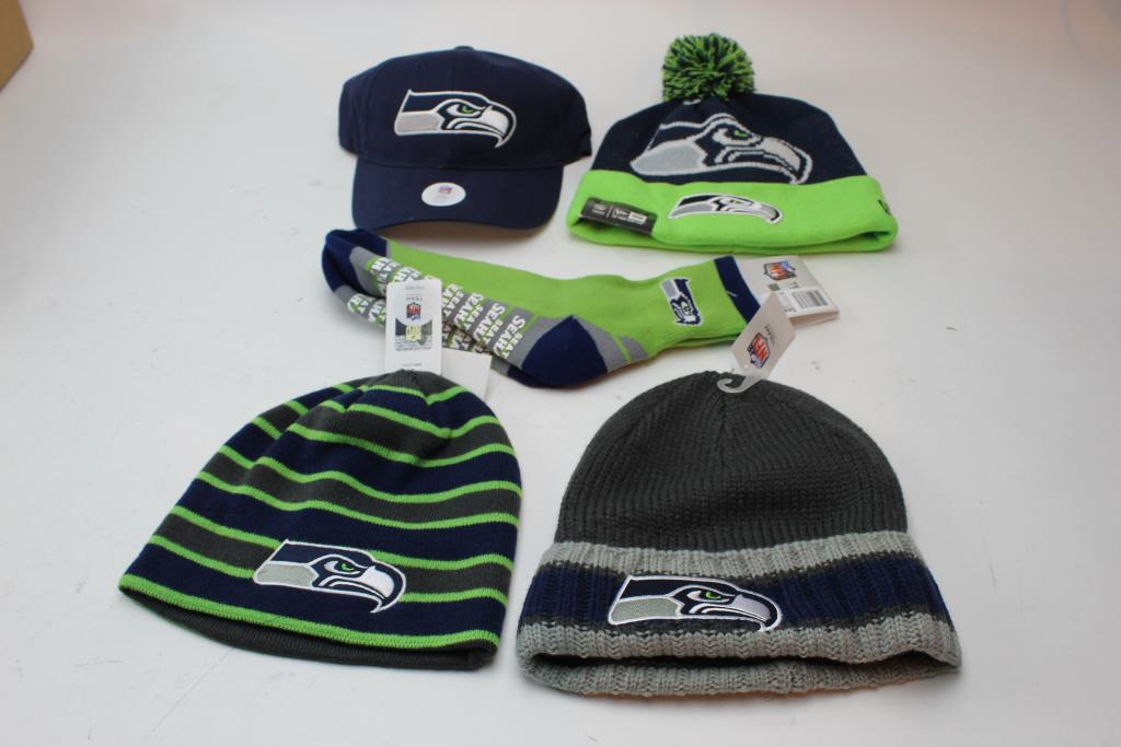 fe49c169b2b Image 1 of 3. Seattle Seahawks Hats And Beanies ...