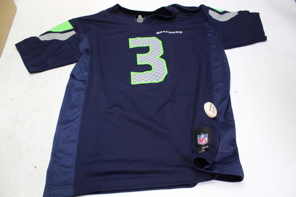 b0377e4e Seattle Seahawks Jersey Baby / Kids Clothing, Size XL (18/20 ...
