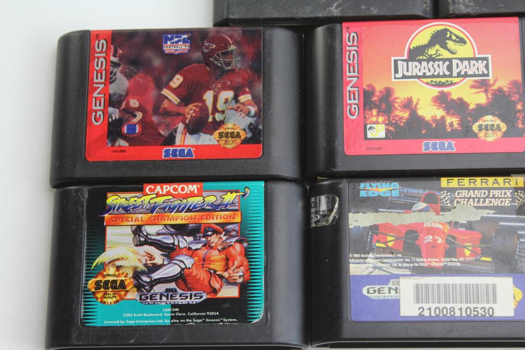 Sega Genesis Games Street Fighter Ii Mortal Kombat 3 And More 8