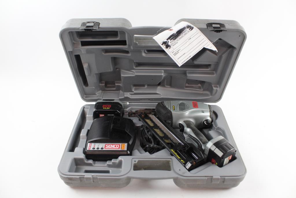 Senco Cordless Nail Gun With Case   Property Room