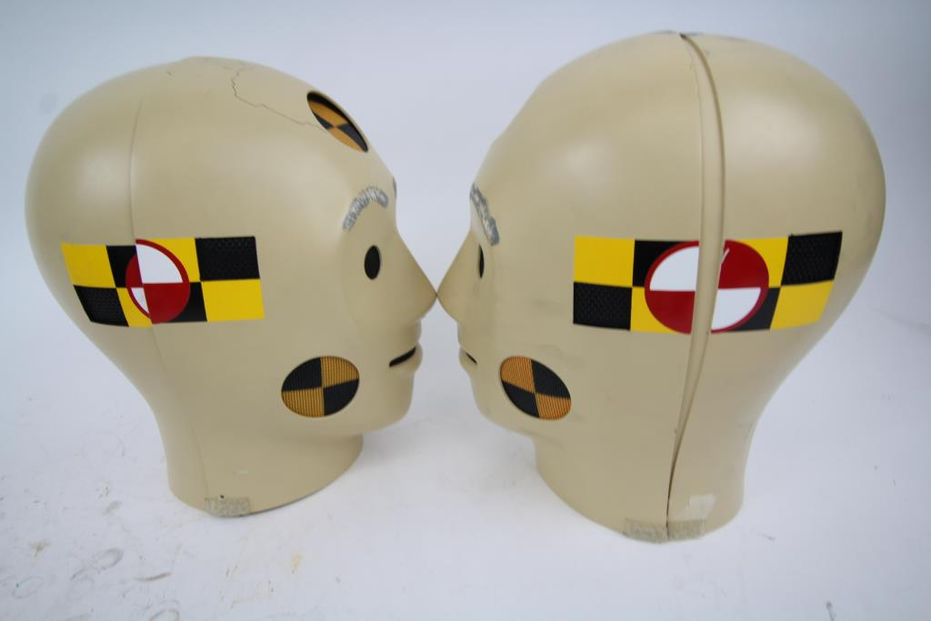 Shafton Crash Test Dummy Costumes 2 Pieces Property Room