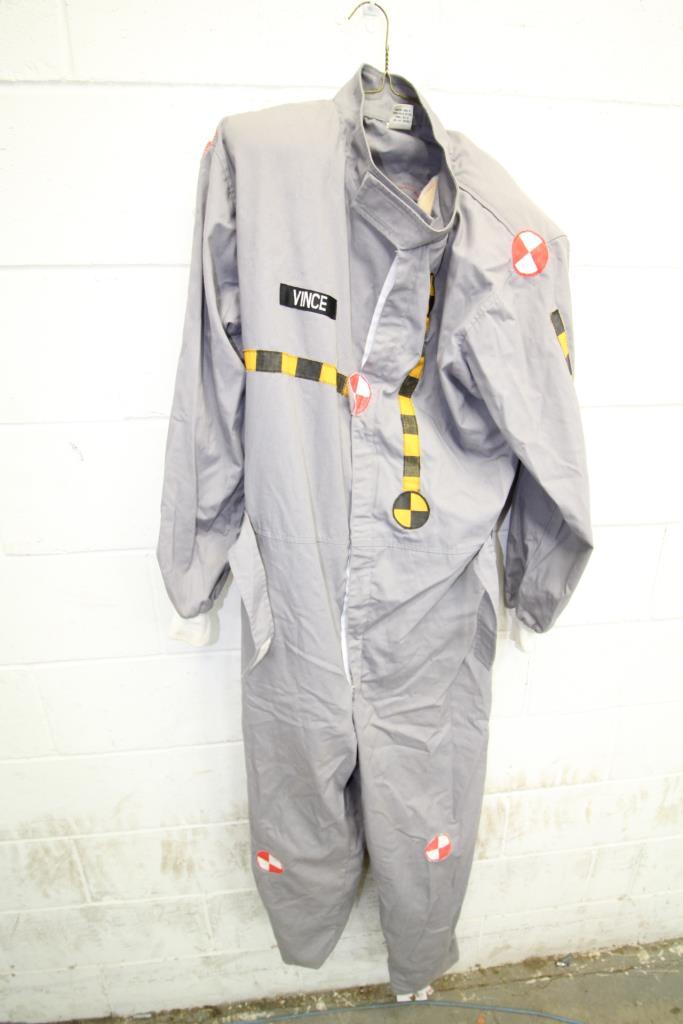 Shafton Crash Test Dummy Costumes 2 Pieces Property Room
