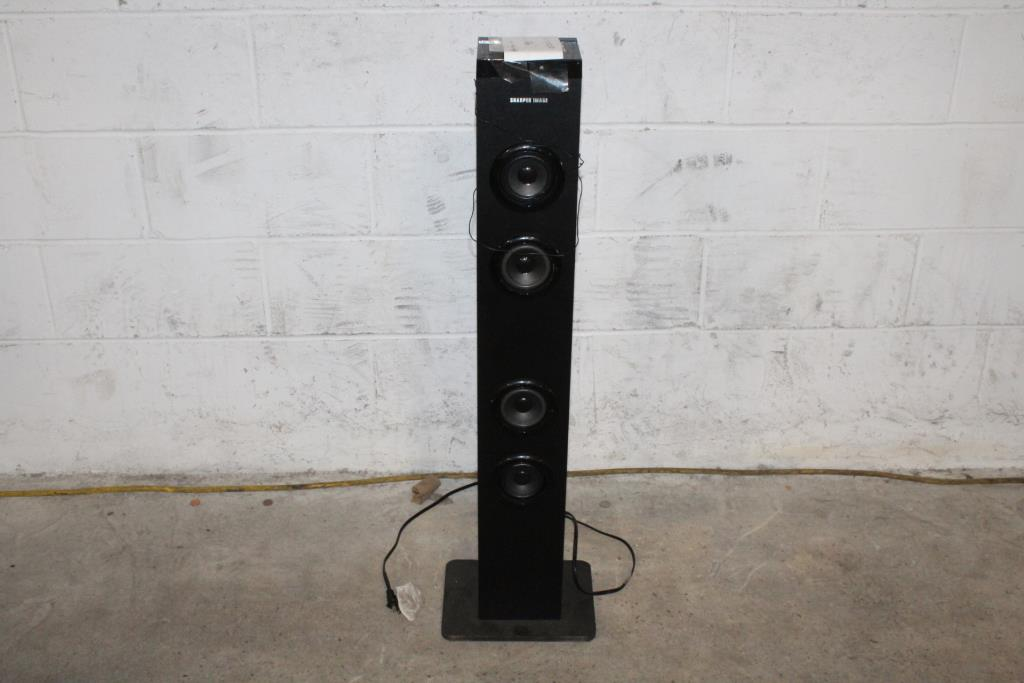 Sharper Image Bluetooth Tower Speaker Property Room