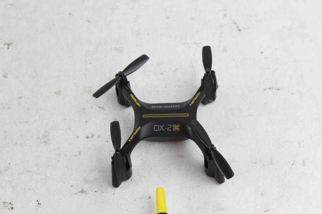 Sharper Image Dx 2 Quadcopter Property Room