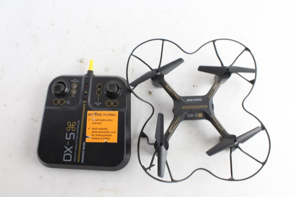 Sharper Image Dx 5 Quadcopter Property Room