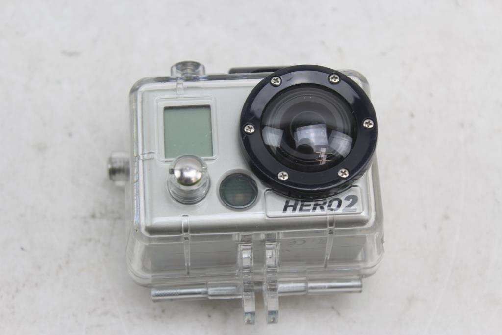 Sharper Image Hd Action Camera With Case Property Room