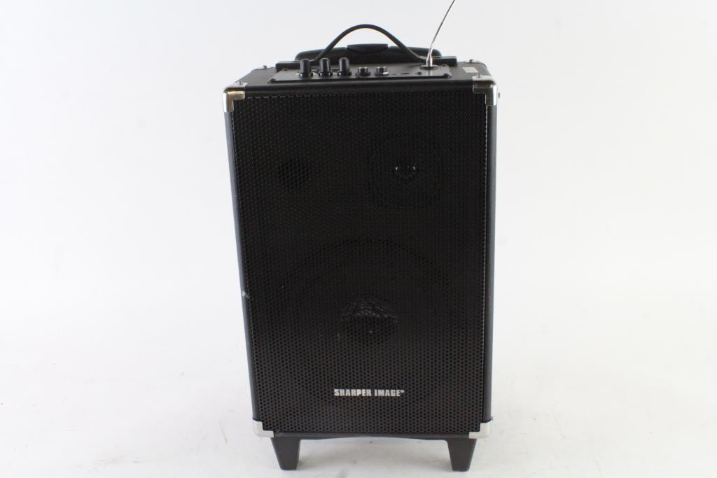 Sharper Image Wireleass Tailgate Speaker Property Room