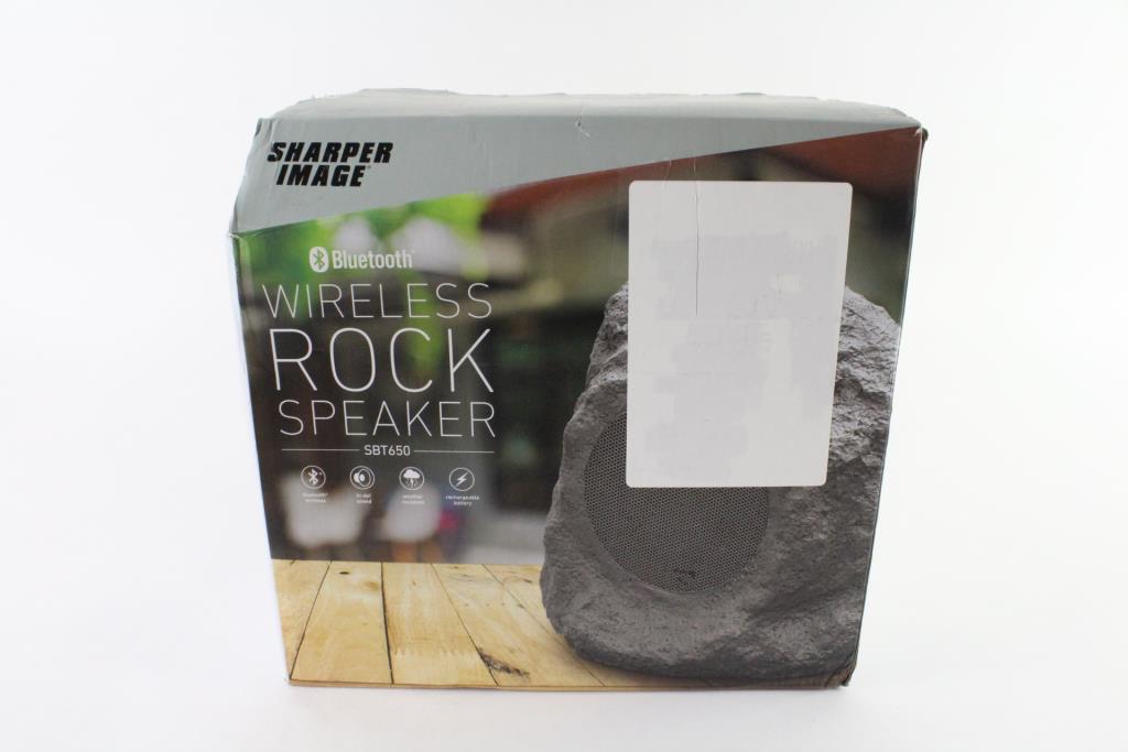 Sharper Image Wireless Bluetooth Speaker Property Room