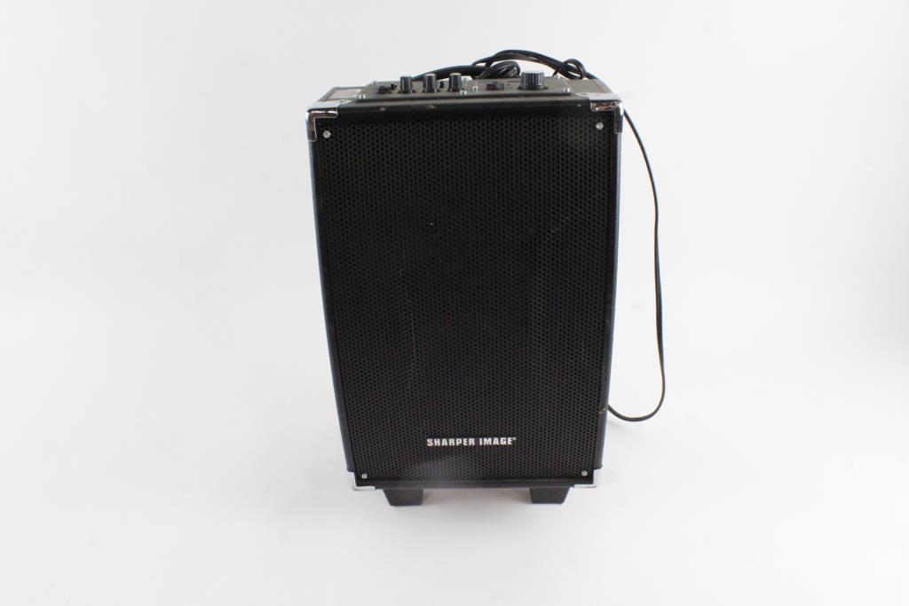 Sharper Image Wireless Tailgate Speaker Property Room