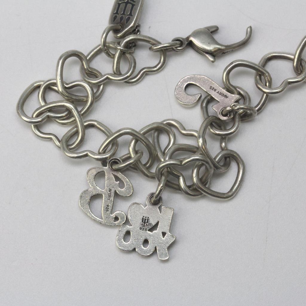 42c70a61ad919 James Avery Heart Charm Bracelet