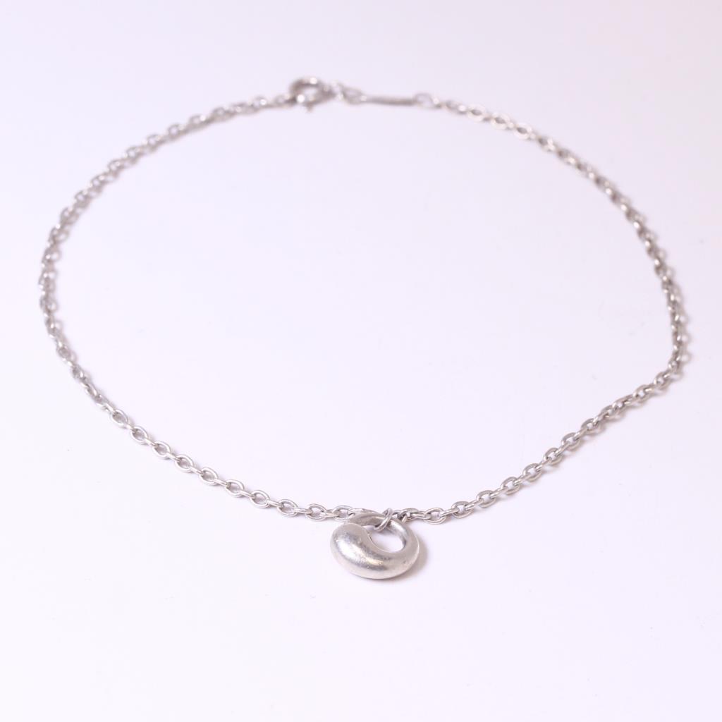 Silver 45g tiffany co elsa peretti eternal circle bracelet silver 45g tiffany co elsa peretti eternal circle bracelet aloadofball Images