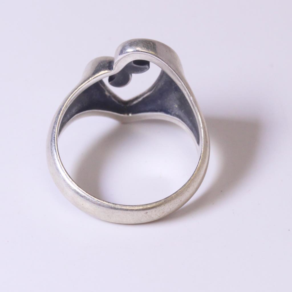 Silver 68g James Avery Mothers Love Ring Property Room