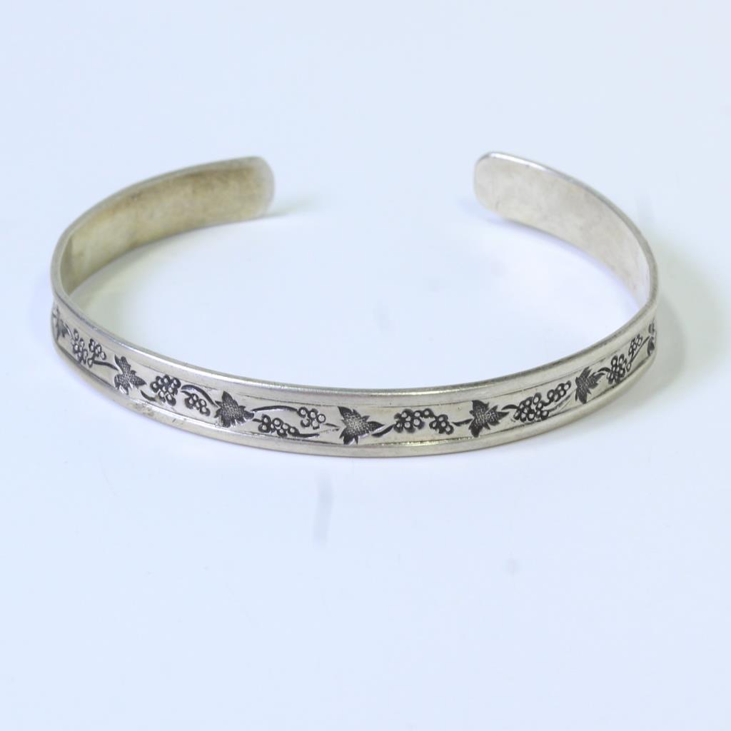 Silver 8 3g Gvine Ed Levin Bracelet Cuff