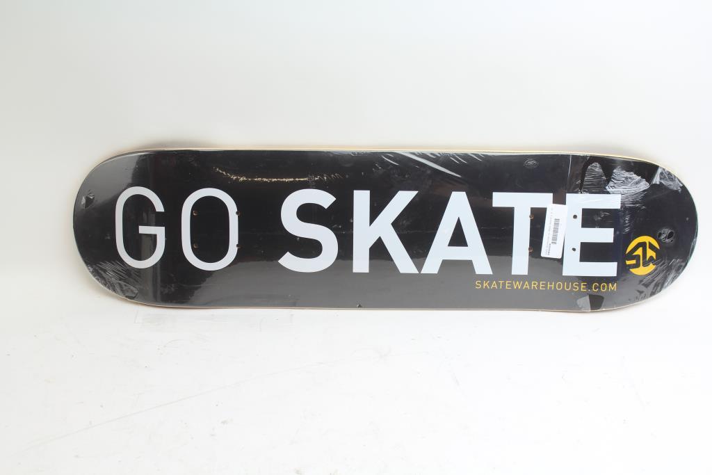 Skate Warehouse Skateboard Deck   Property Room