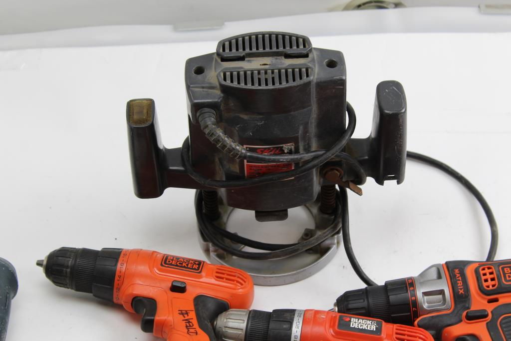 Skil plunge router 1835 1 3/4 hp $29. 95 | picclick.