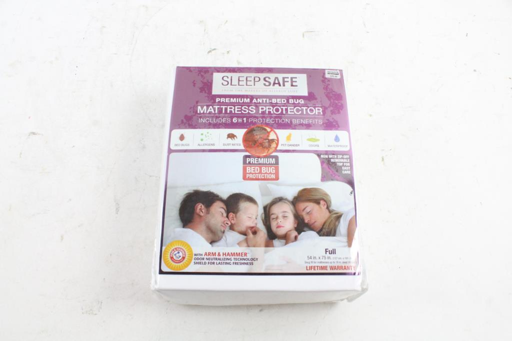 Sleep Safe Anti Bed Bug Mattress Protector Full Size Property Room