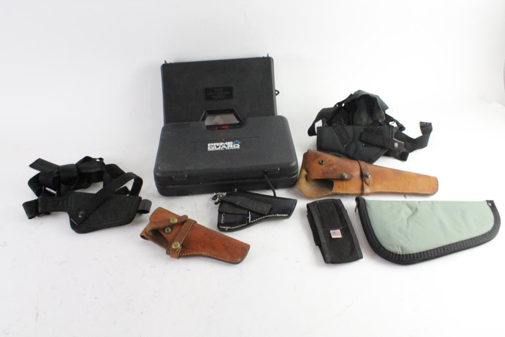 Smith & Wesson And Other Holsters And More, 9 Pieces | Property Room