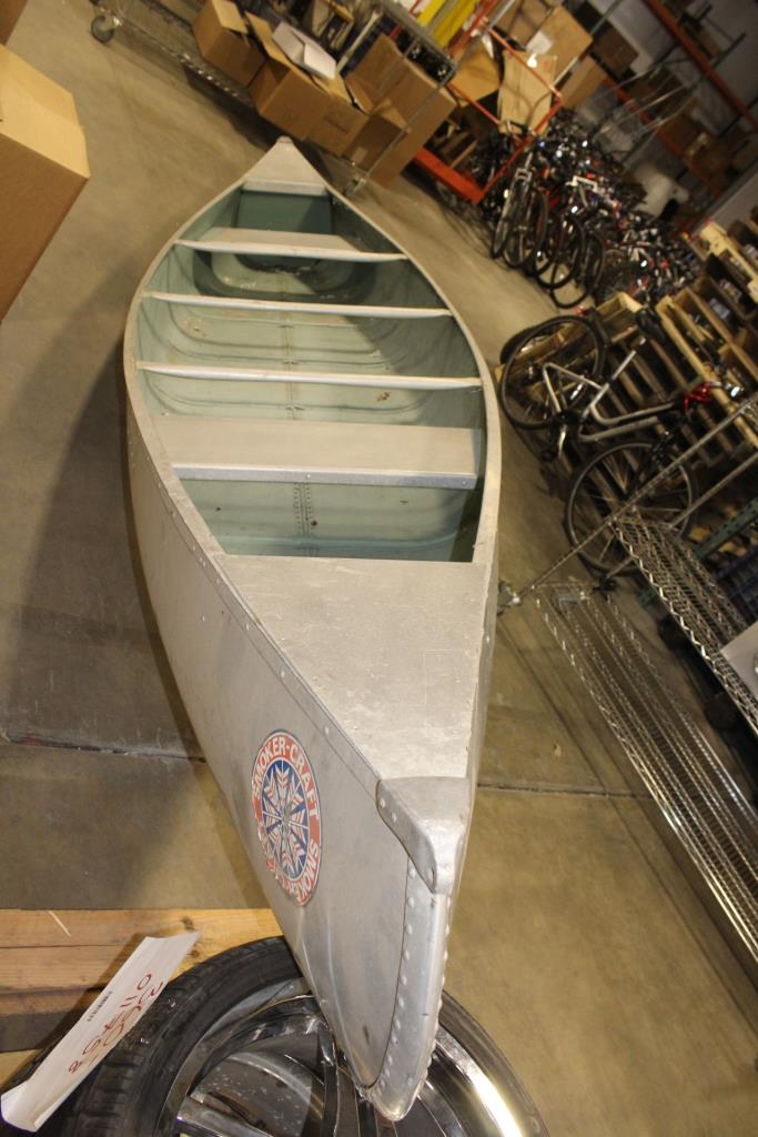 Smoker Craft Aluminum Canoe | Property Room