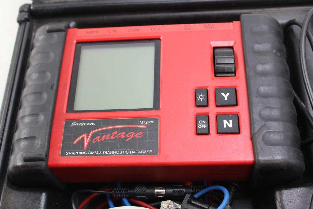 Snap On Mt2400 Vantage Graphing Dmm Amp Diagnostic Database