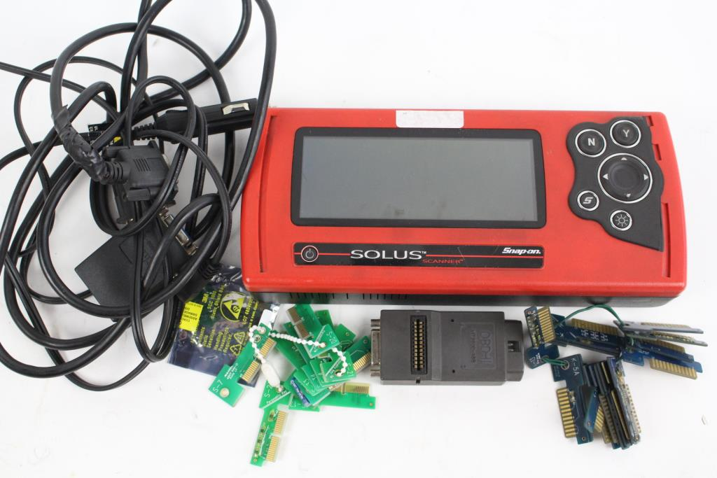 Snap-On Solus Diagnostic Tool With Accessories  2 Pieces | Property Room