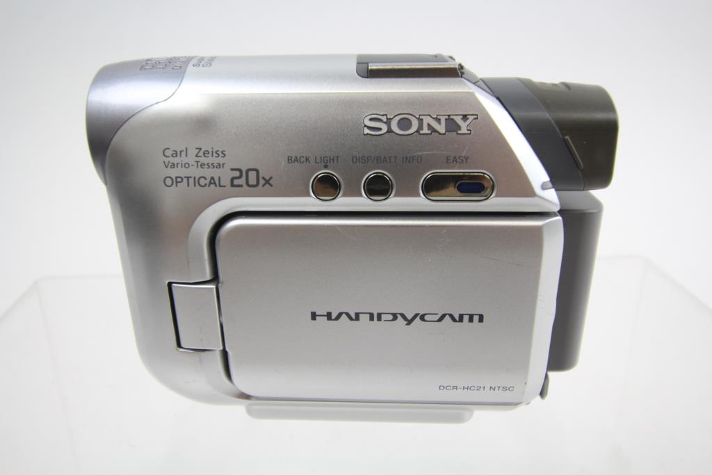DRIVERS UPDATE: SONY HANDYCAM DCR-HC21 NTSC