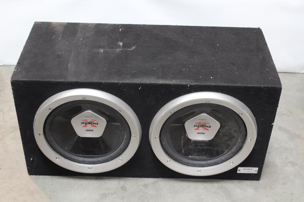 Sony High Power Bass Reflex Subwoofer System | Property Room