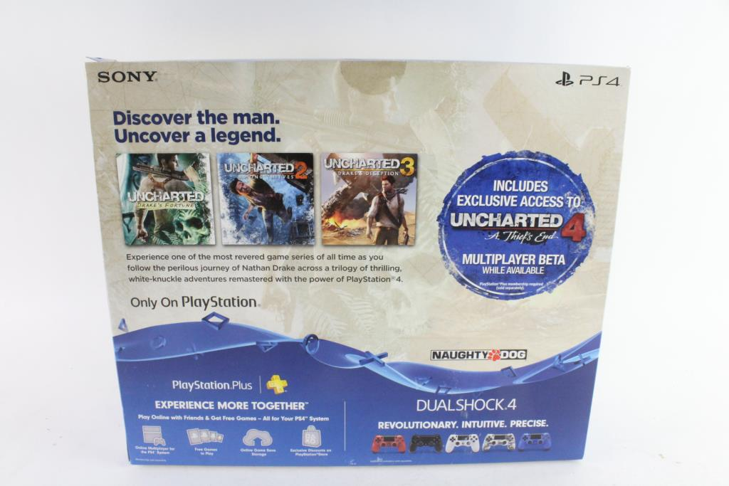 Sony Playstation 4 Uncharted The Nathan Drake Collection