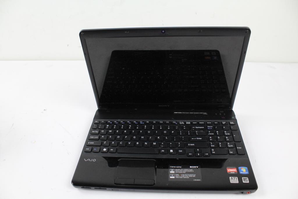 Sony Vaio Pcg 61611l Laptop Property Room