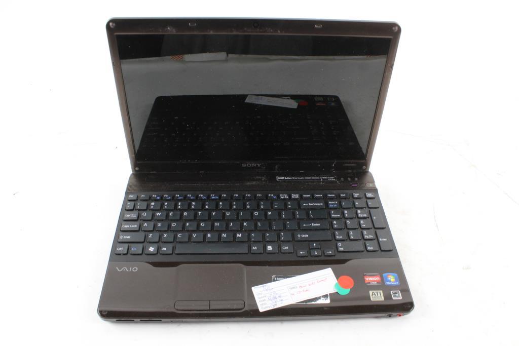 sony vaio pcg 61611l laptop property room rh propertyroom com sony pcg-61611m specs sony vaio pcg-61611l manual pdf