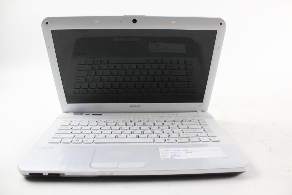 Sony Vaio Pcg 61a12l Laptop Property Room