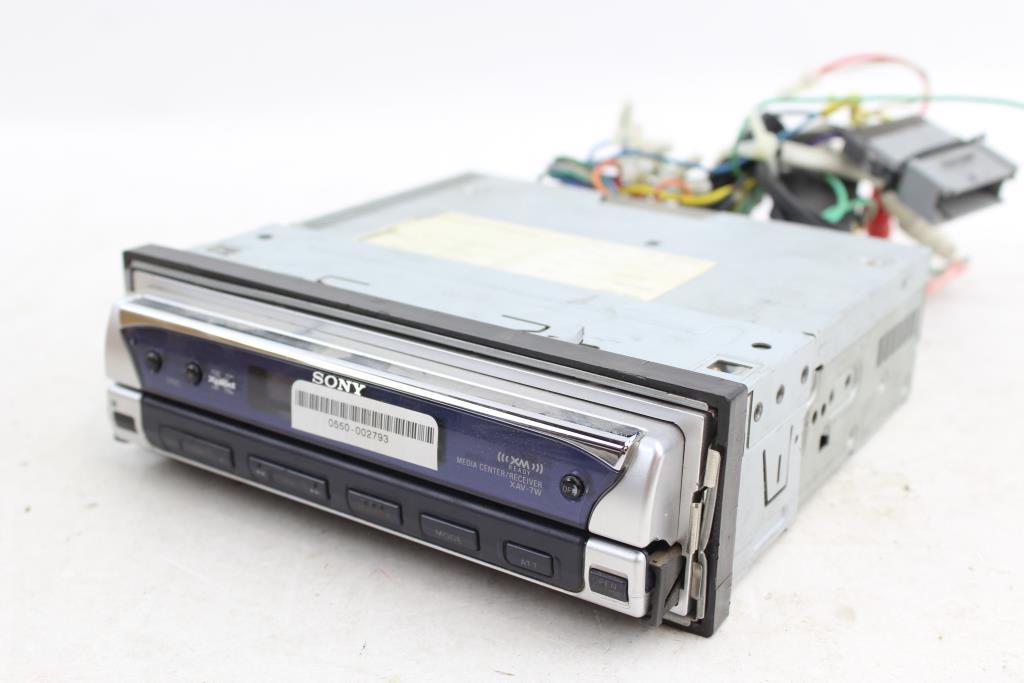sony xav 7w car stereo property room Sony 16 Pin Wiring Harness Diagram sony xav 7w car stereo