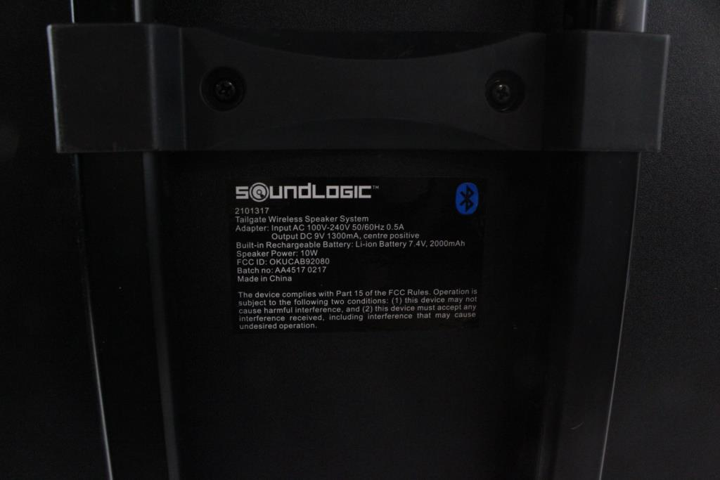 SoundLogic Tailgate Wireless Speaker System | Property Room