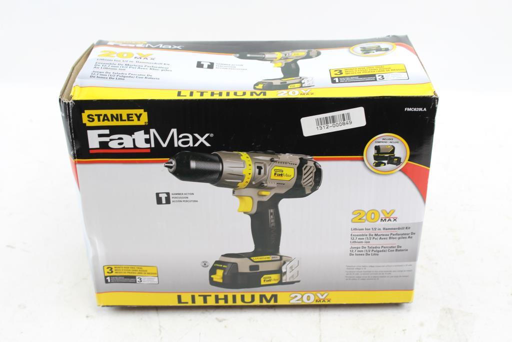 Upc 885911309035 stanley fatmax 20-volt lithium cordless hammer.