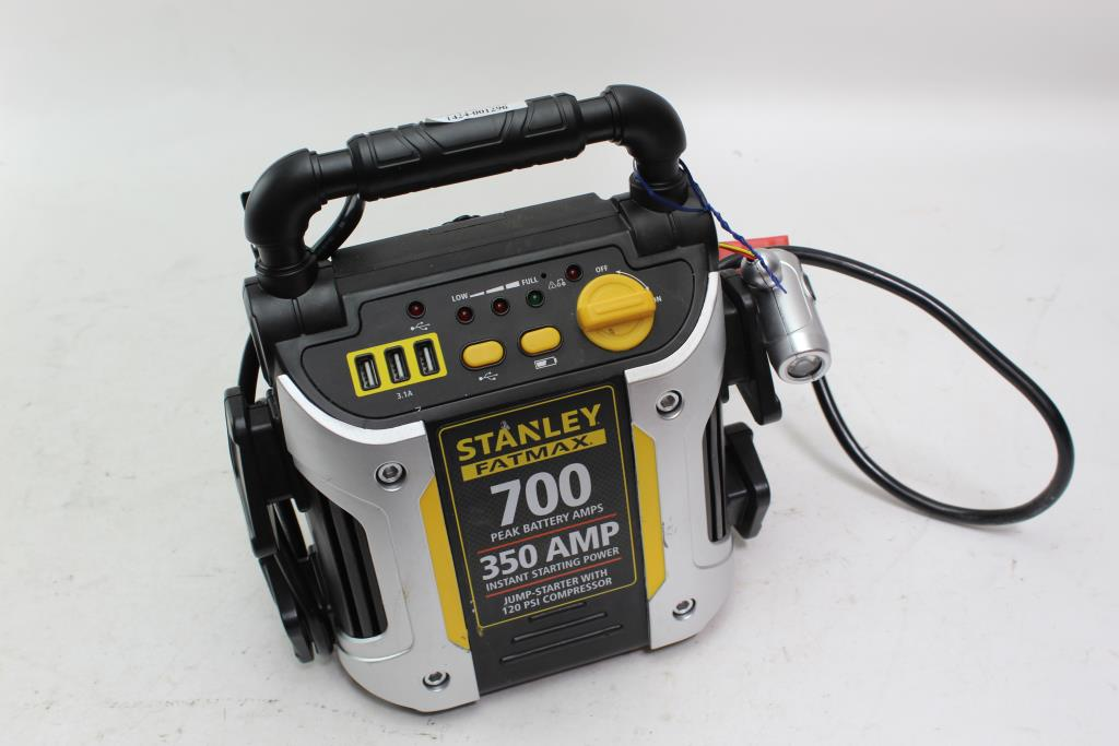 Stanley FatMax Jump-Starter/ Air Compressor | Property Room