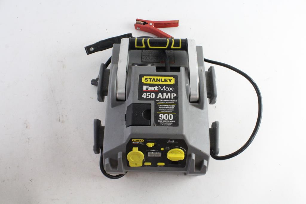 Stanley Battery Charger With Air Compressor