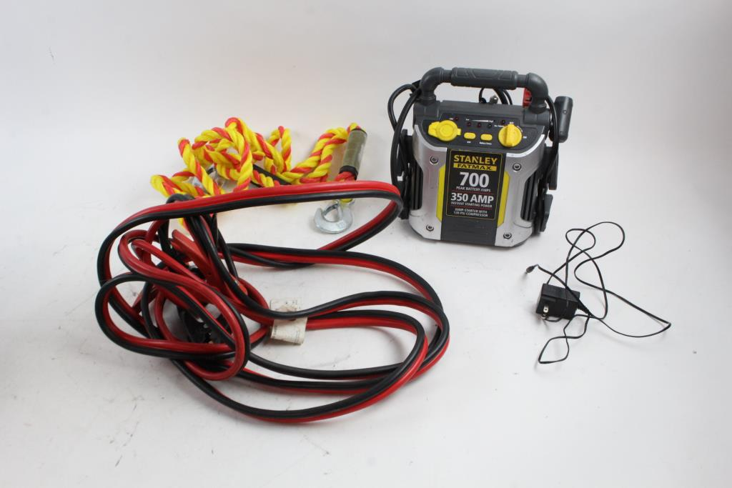 Stanley Jump-starter/air Compressor And More, 3 Pieces