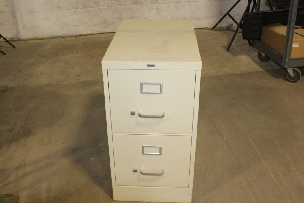 Staples 2 Drawer File Cabinet Property Room