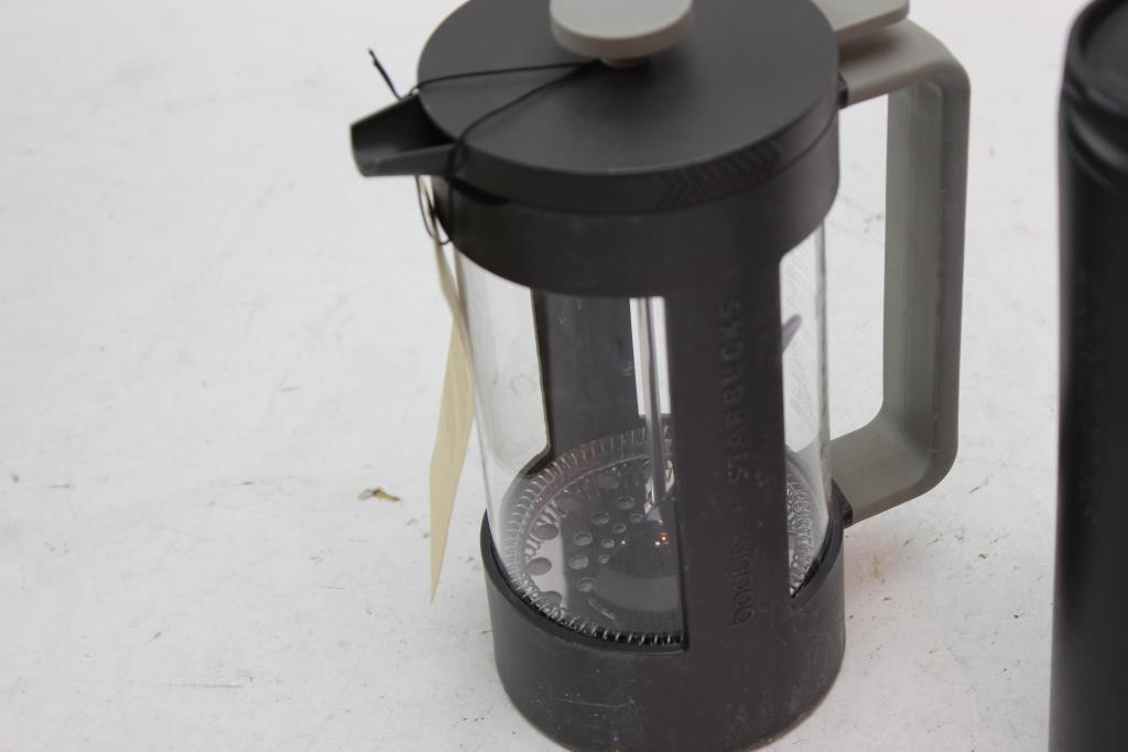 Starbucks Bodum 8 Cup Coffee Press And Cup 2 Pieces Property Room