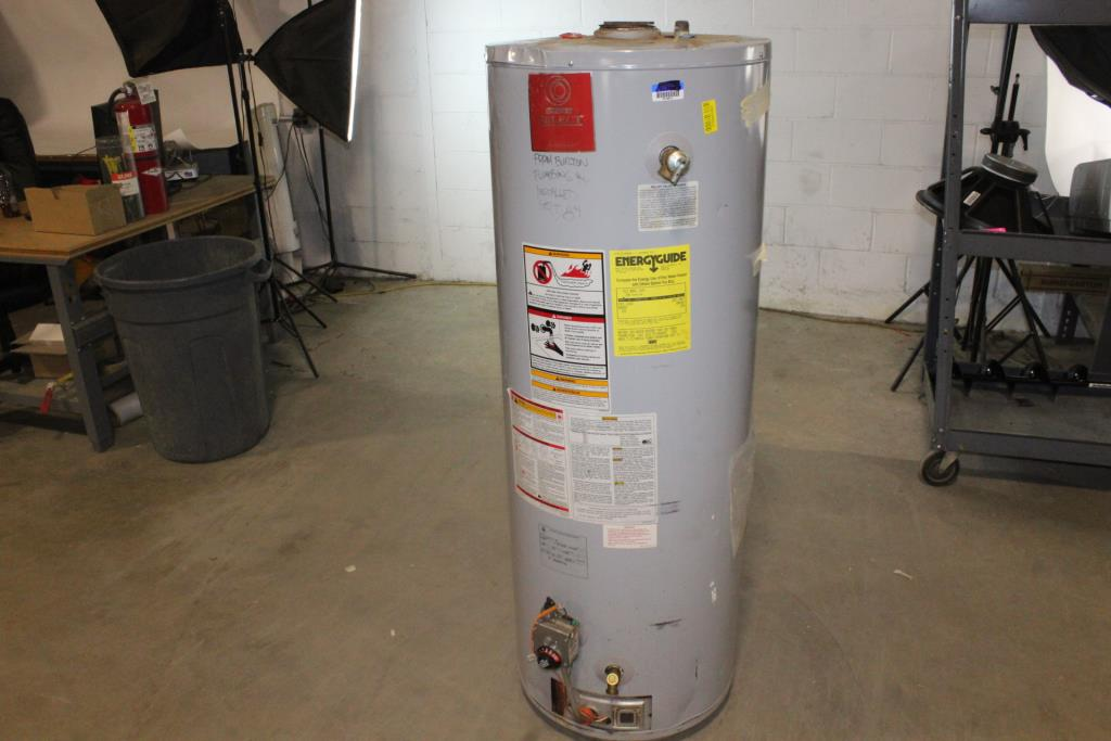 State Select Hot Water Heater Property Room