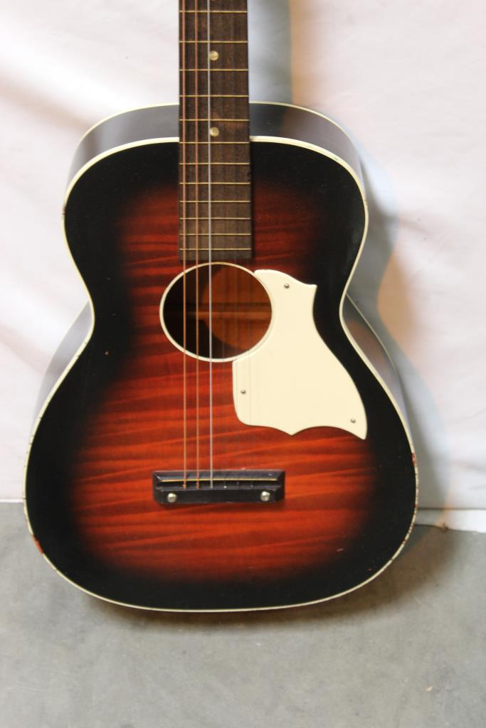stella harmony acoustic guitar with case property room. Black Bedroom Furniture Sets. Home Design Ideas