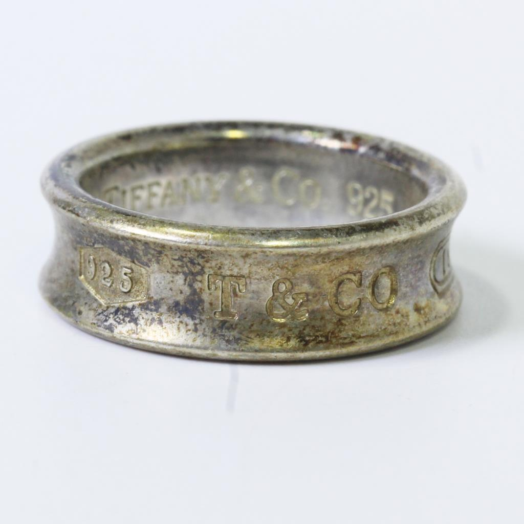 8bb02c262 Sterling Silver 7g Tiffany & Co. 1837 Ring | Property Room