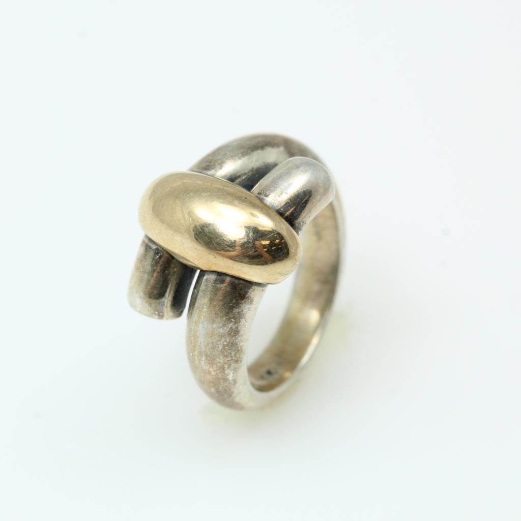 38326b4a42ae9 Sterling Silver With 14kt Gold Accent 8.2g Ring, James Avery ...