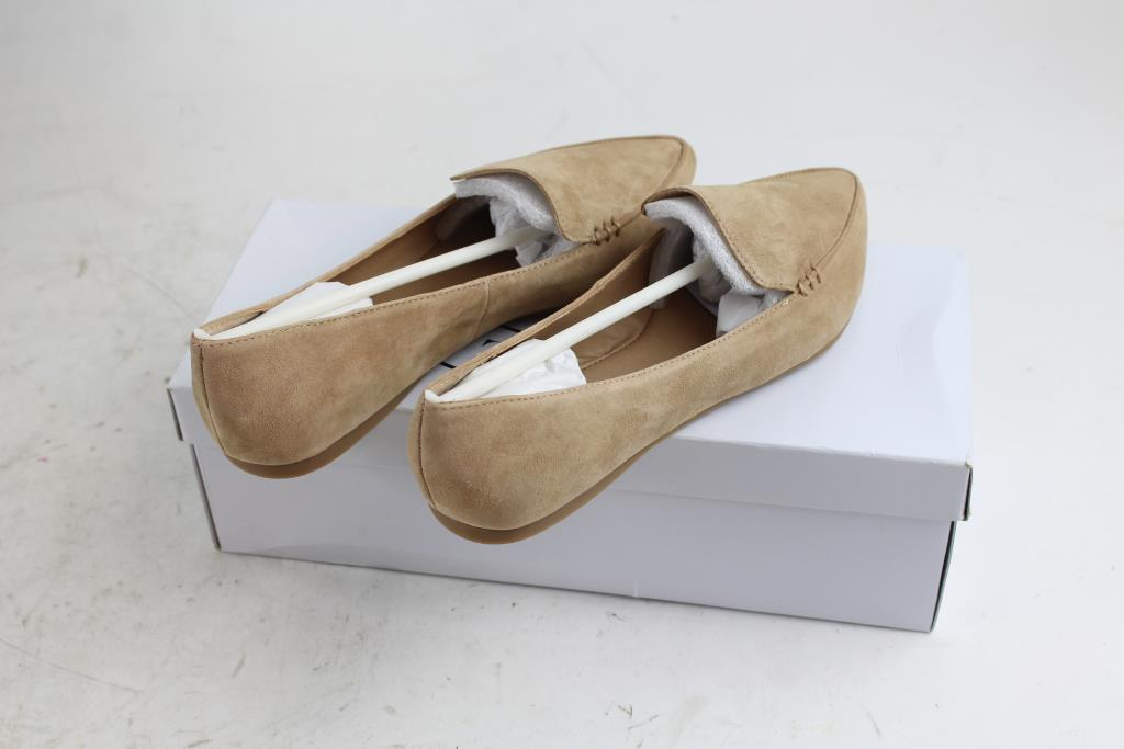 cbc6ce297aa Steve Madden Feather Camel Suede Shoes