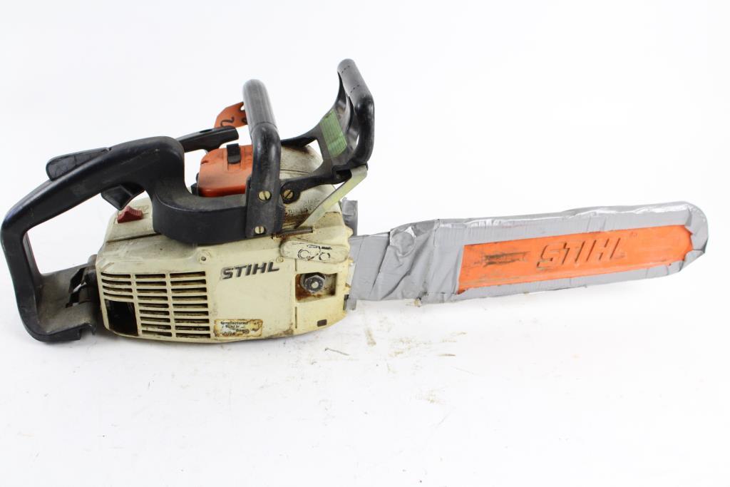 Stihl 011 Atv chainsaw Manual