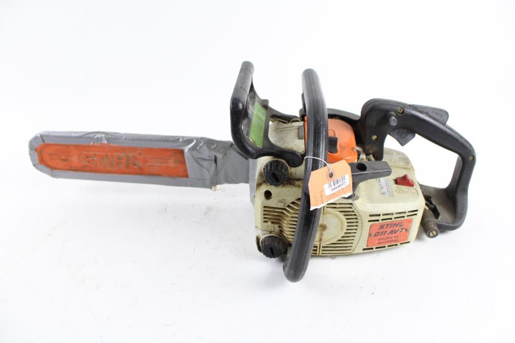 Stihl 011 AVT 15 Chainsaw Property Room