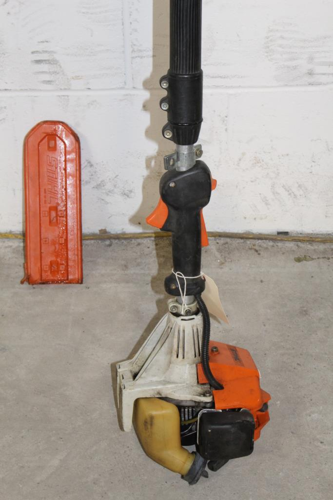Stihl Gas Powered Pole Saw Property Room